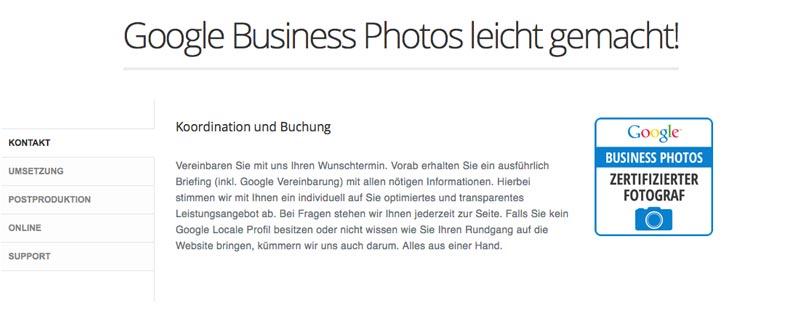 Google Business Photos leicht gemacht!