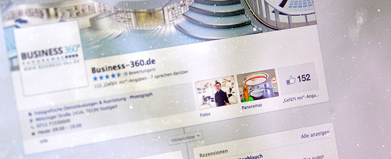 150 Fans und Google Business View in Facebook einbinden!